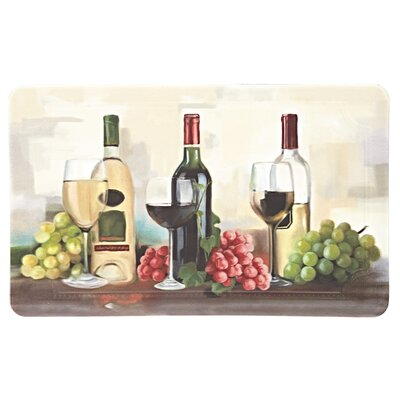 Gorham Rofino Wine Trio Dri-Pro Comfort Kitchen Mat