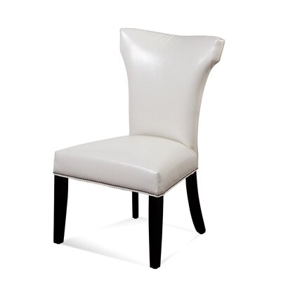 Nielsen Parson Chair (Set of 2) Upholstery: Ivory
