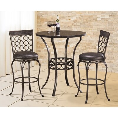 Alchemist 3 Piece Bar Height Pub Table Set