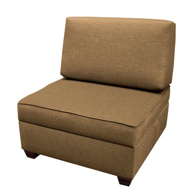 Attica Sit n Store Side Chair Upholstery: Mocha