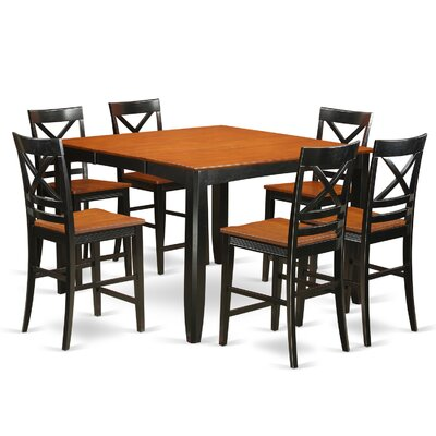Tamarack 7 Piece Counter Height Pub Table Set