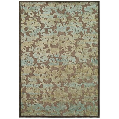 Greenwald Dark Brown Area Rug