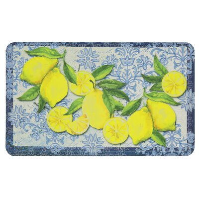 Griggsville Fruit Theme Kitchen Mat