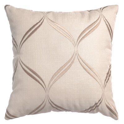 Pruitt Throw Pillow Color: Natural