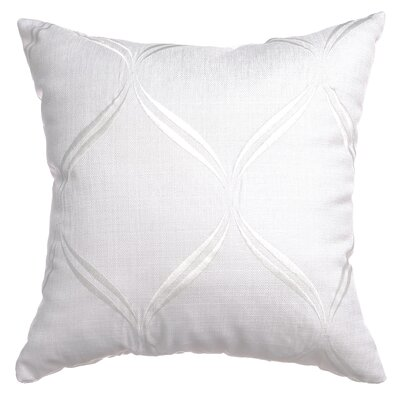 Pruitt Throw Pillow Color: White