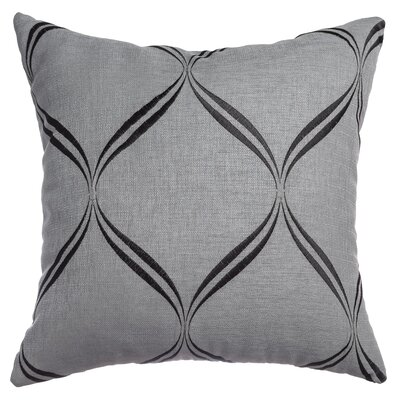Pruitt Throw Pillow Color: Pewter