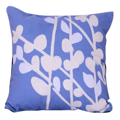 Lannon Embroidered Throw Pillow