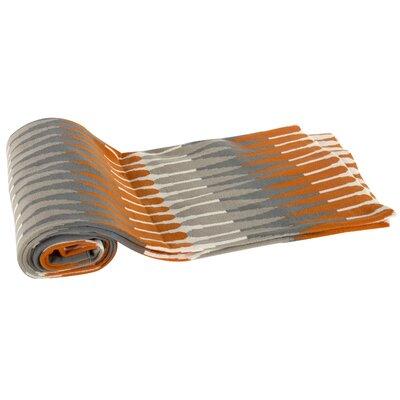 Kellen Larch Lane Cotton Cashmere Throw Blanket Color: Orange