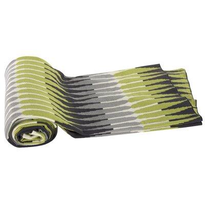 Kellen Larch Lane Cotton Cashmere Throw Blanket Color: Green