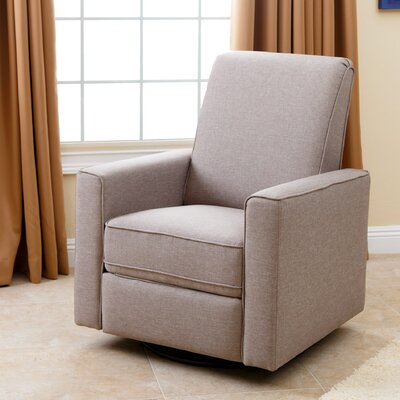 Coello Manual Swivel Recliner Upholstery: Beige