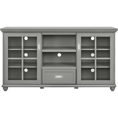 Gullette TV Stand Finish: Gray