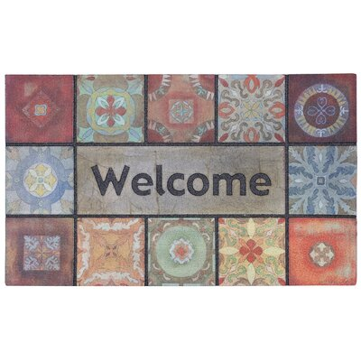 Gullette Gypsy Wall Outdoor Doormat