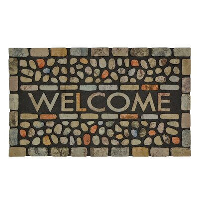 Gullette Pebble Brook Light Doormat