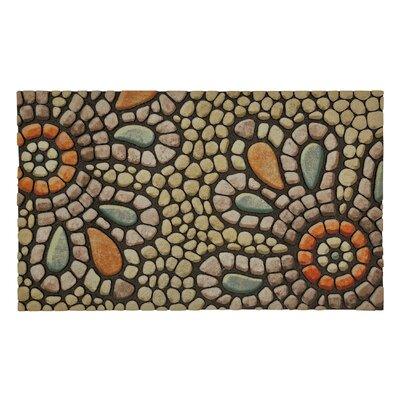 Gullette Bohemian Pebble Light Doormat