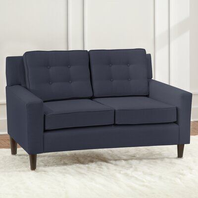 Taos Loveseat Upholstery Color: Midnight