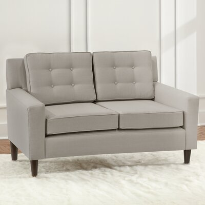 Taos Loveseat Upholstery Color: Dove