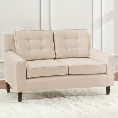 Taos Loveseat Upholstery: Ivory