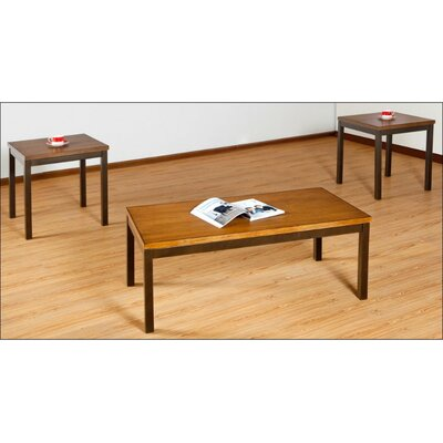 Simmons Casegoods Claiborne 3 Piece Coffee Table Set