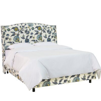 Haines Upholstered Panel Bed Size: California King
