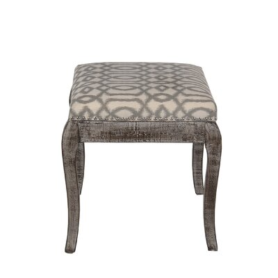 Coatsburg Square Ottoman Upholstery: Brown