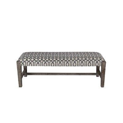 Cobden Ottoman Upholstery: Gray