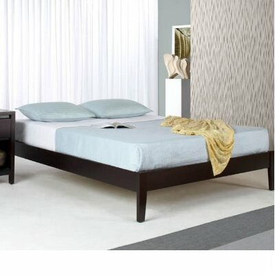 Keevan Platform Bed Size: Queen, Color: Espresso