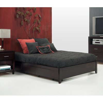 Thierry Storage Platform Bed Size: King