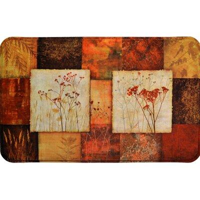 Coffield Autumn Mosaic Kitchen Mat