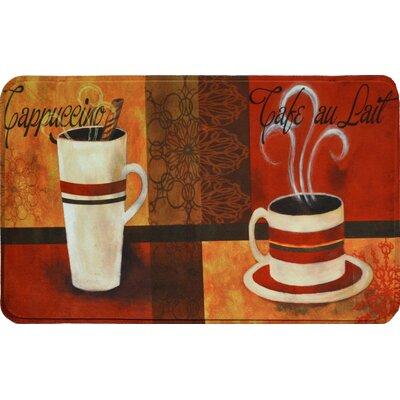 Coeur Cafe Au Lait Kitchen Mat