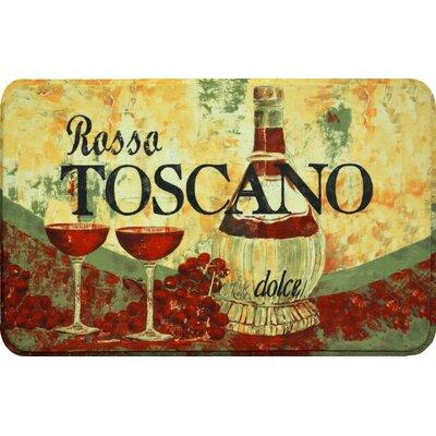 Coeur Rossa Toscano Kitchen Mat