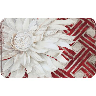 Coeur Carnation Kitchen Mat