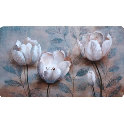 Collinsville Blooming Tulip Kitchen Mat