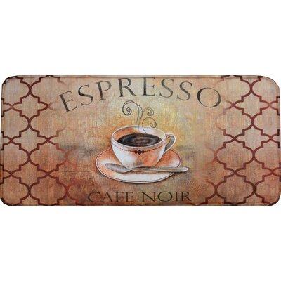 Colfax Espresso Kitchen Mat