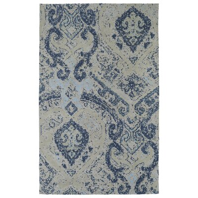 Coffman Blue Area Rug Rug Size: Rectangle 5 x 7
