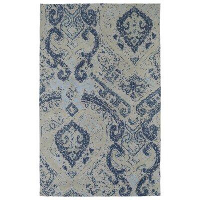 Coffman Blue Area Rug Rug Size: 2 x 3