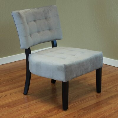 Coggeshall Upholstered Slipper Chair Upholstery: Gray