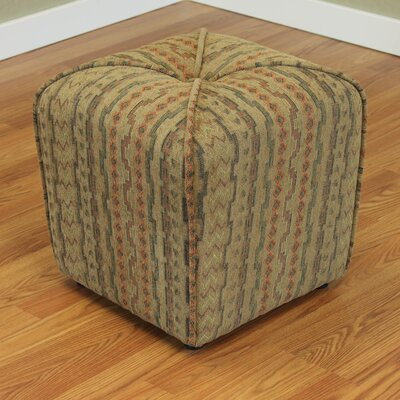 Coghlan Cube Ottoman Color: Brush / Brown