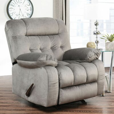 Dashiell Rocker Recliner Upholstery: Grey