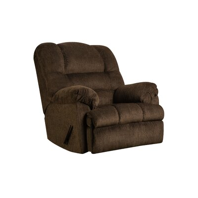 Simmons Upholstery Merion Mocha Rocker Recliner Type: Manual, Upholstery: Mocha