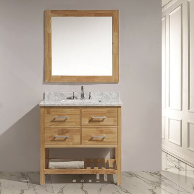 Halcomb 36 Single Bathroom Vanity Set