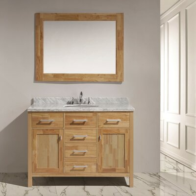 Middletown 48 Single Vanity Set with Mirror