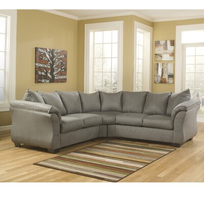 Red Barrel Studio RDBS2361 27984453 Lavery Yards Sectional Upholstery