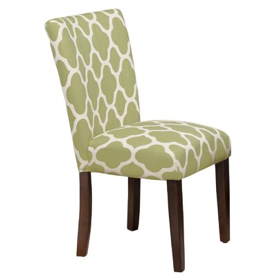 Conde Parsons Chair Upholstery: Green Apple