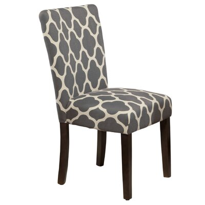 Conde Parsons Chair Upholstery: Warm Gray