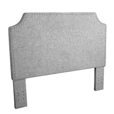 Courtemanche Upholstered Panel Headboard Color: Gray