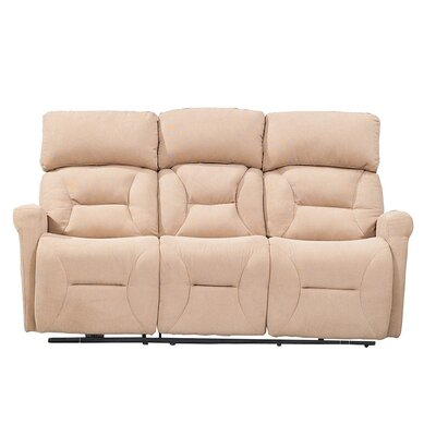 Crippen Power Reclining Sofa Upholstery: Camel