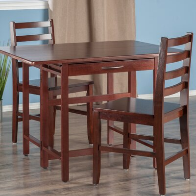 Culley 3 Piece Drop Leaf Dining Set