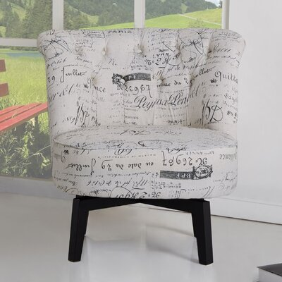 Darryl Swivel Barrel Chair