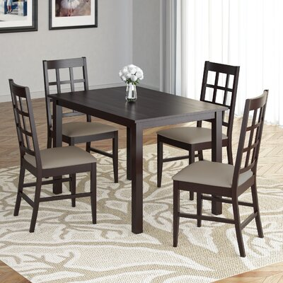 Cumberbatch 5 Piece Dining Set