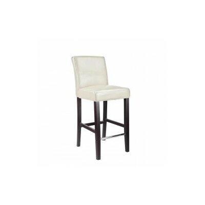 Cummingham 31 Bar Stool Upholstery: White